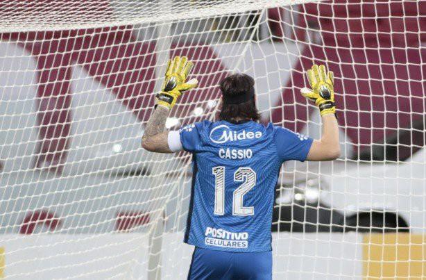 Cássio no Campeonato Brasileiro