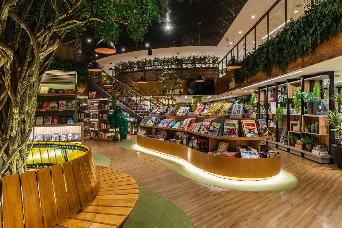 Conheça cinco livrarias brasileiras de tirar o fôlego