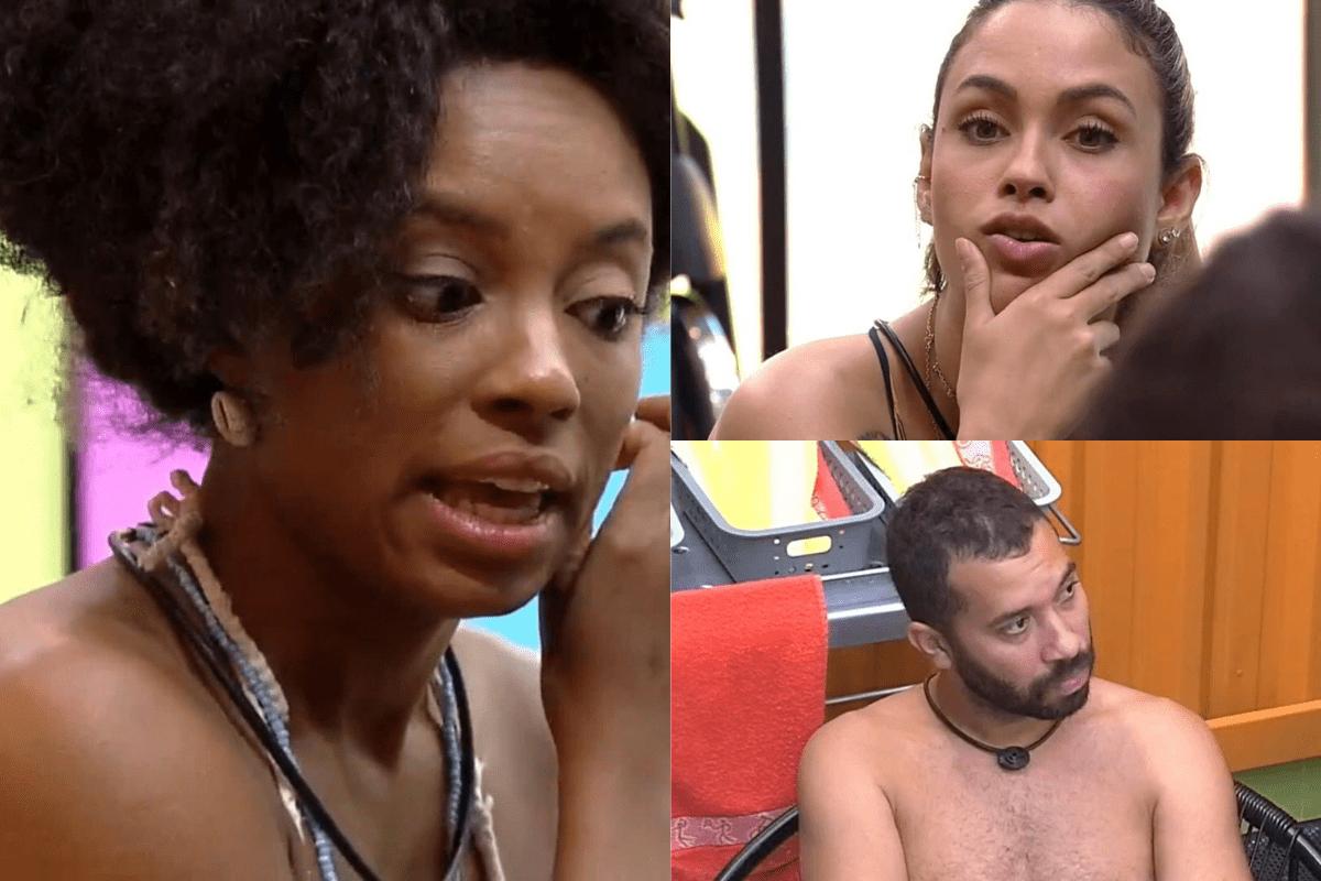 BBB21: Gil, Sarah e Lumena falam mal de Carla Diaz e web se revolta