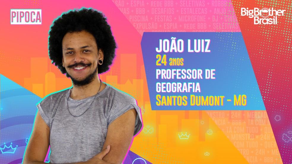 João Luiz é eliminado do BBB21 em Paredão Falso.