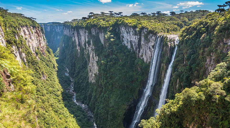 turismo no sul do Brasil