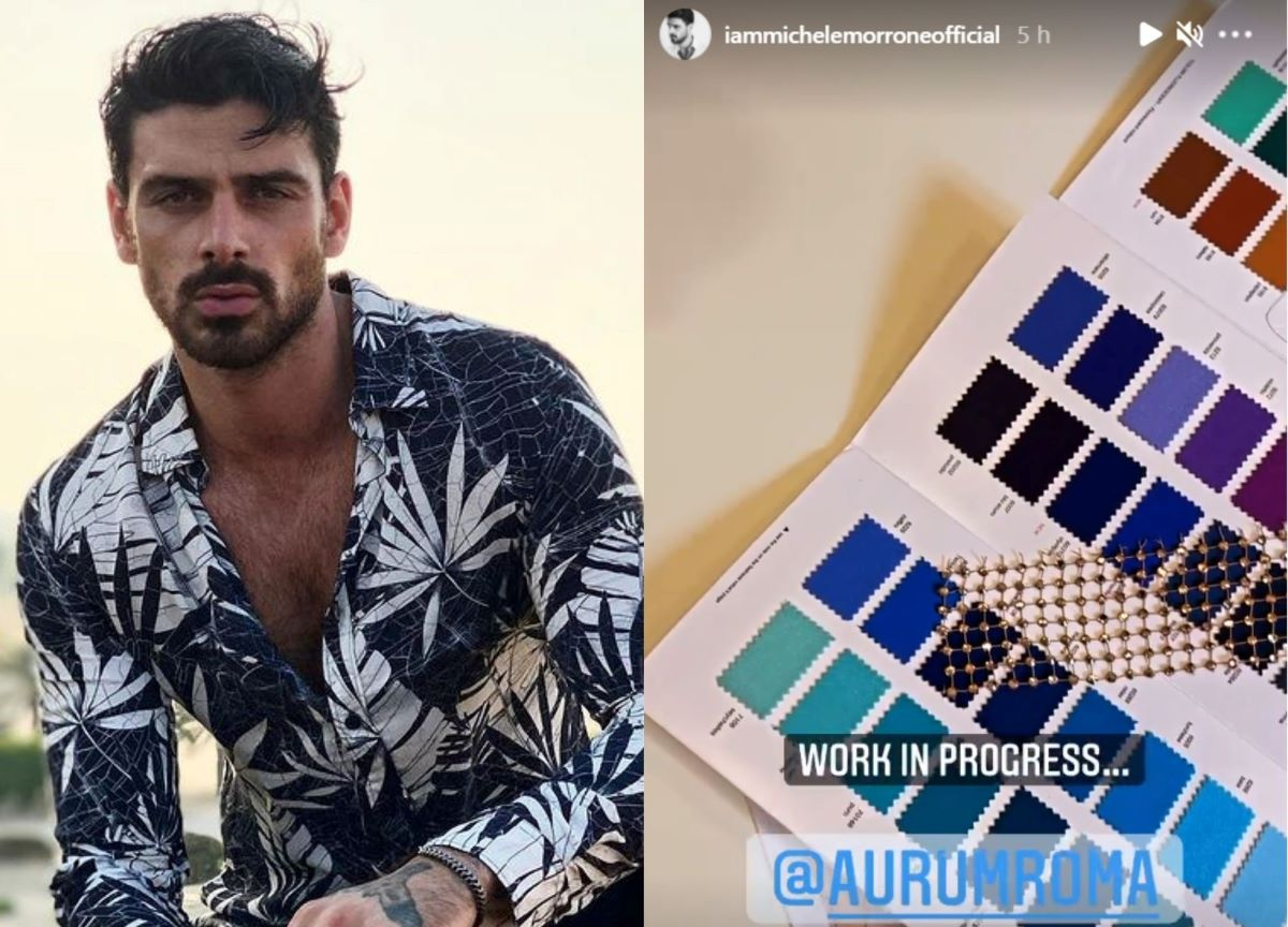 Michele Morrone traz spoiler da nova coleção de sua marca; veja!
