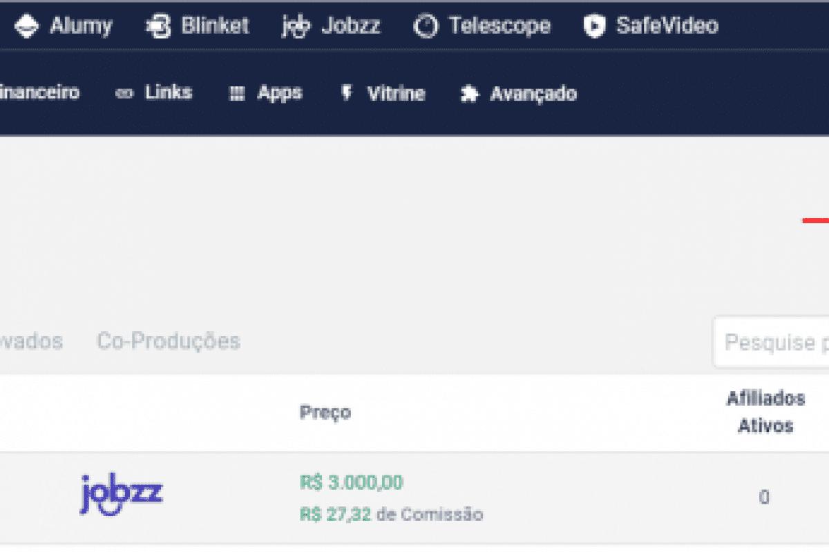 """Na página """"Meus Produtos"""", da Eduzz, o usuário irá clicar em """"Criar Novo Produto"""" para cadastrar novos dados."""