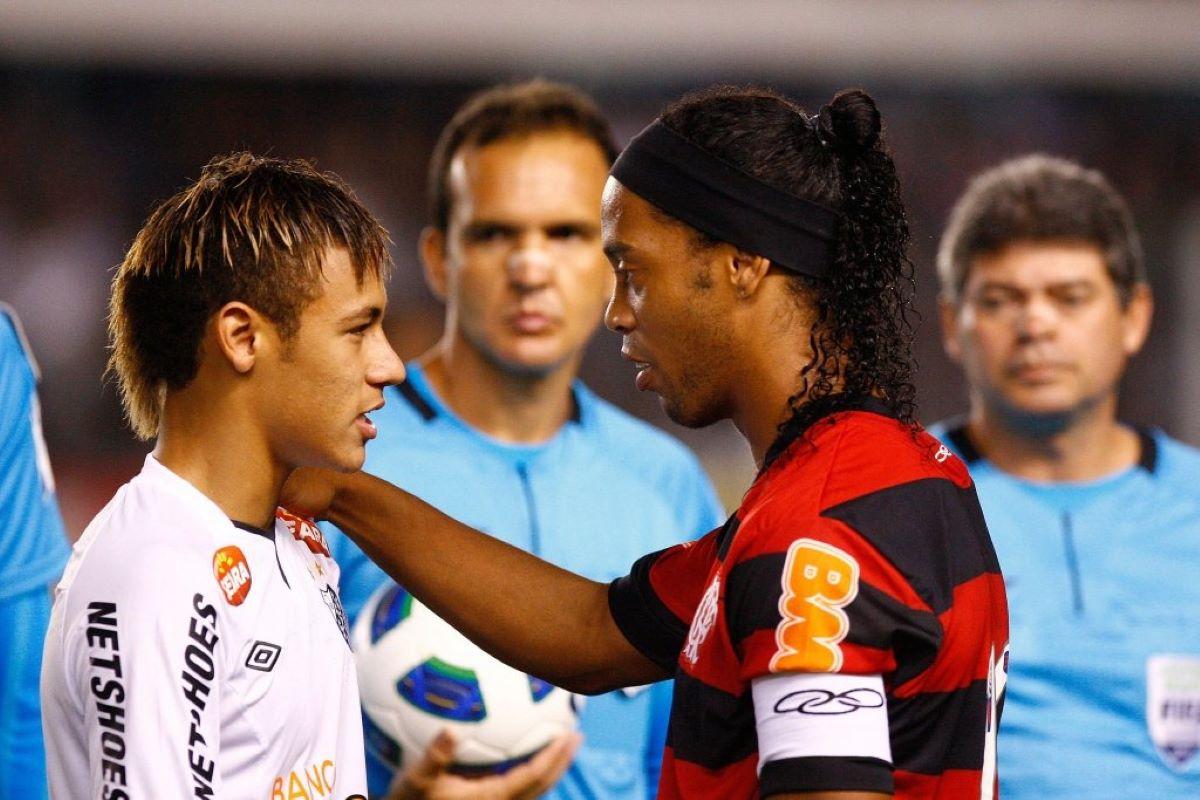 Neymar e Ronaldinho Gaúcho