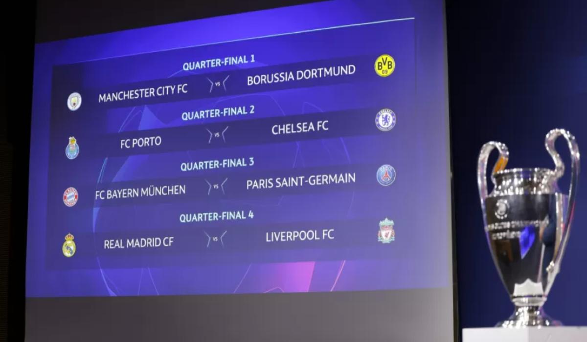 Uefa Champions League: Análise das quartas de final