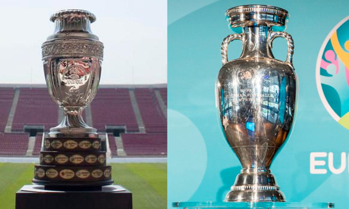 Os torneios quadrienais de futebol que ocorrerão em 2021