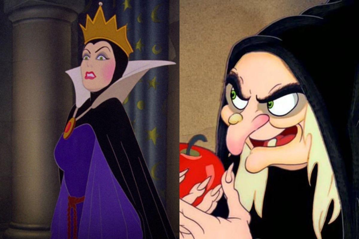 A Rainha Má é a vilã da Princesa Branca de Neve.