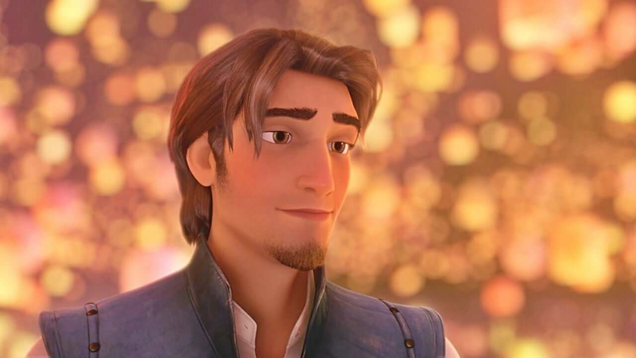 Flynn Rider é o príncipe da Princesa Rapunzel.