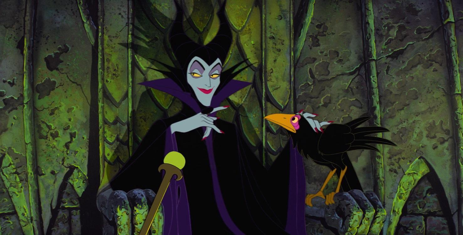 Malévola é a vilã da Princesa Aurora.