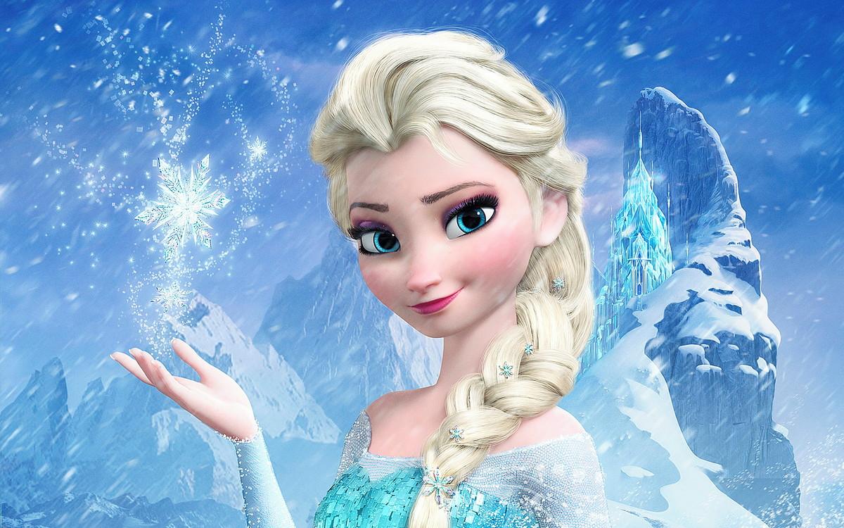 Elsa é a protagonista de Frozen e a princesa da Disney mais popular.