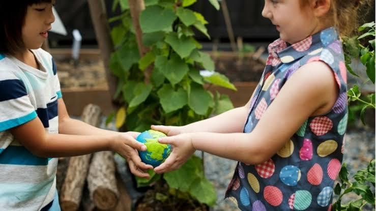 interação entre crianças