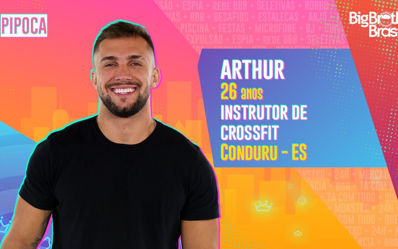 Arthur foi eliminado do BBB21 nesta terça-feira (13).