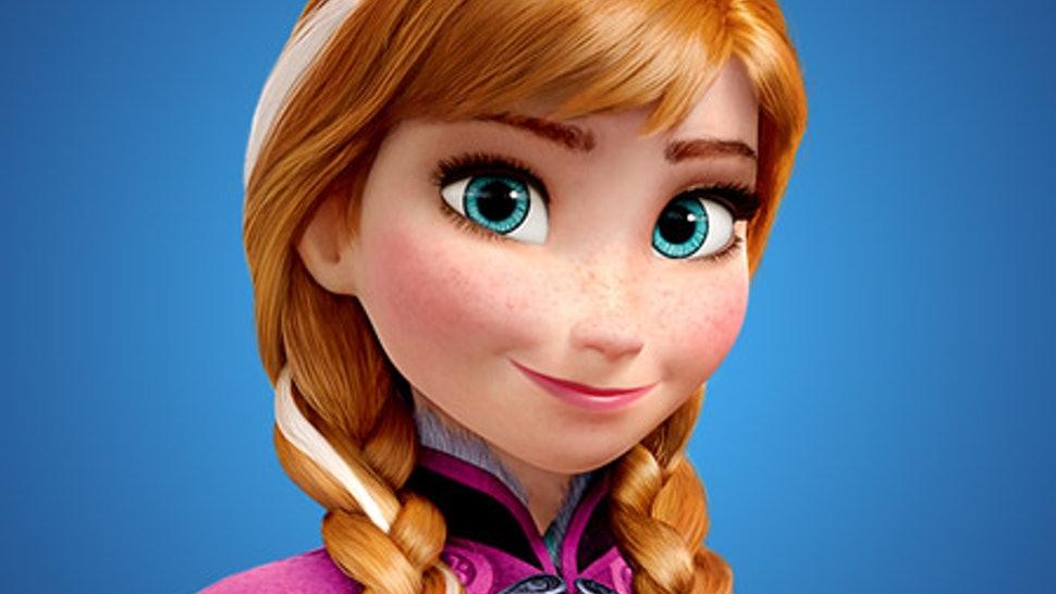 Anna é a princesa de Arendelle e a protagonista de Frozen.
