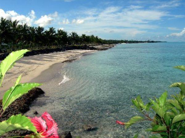 praias no Pacífico Sul