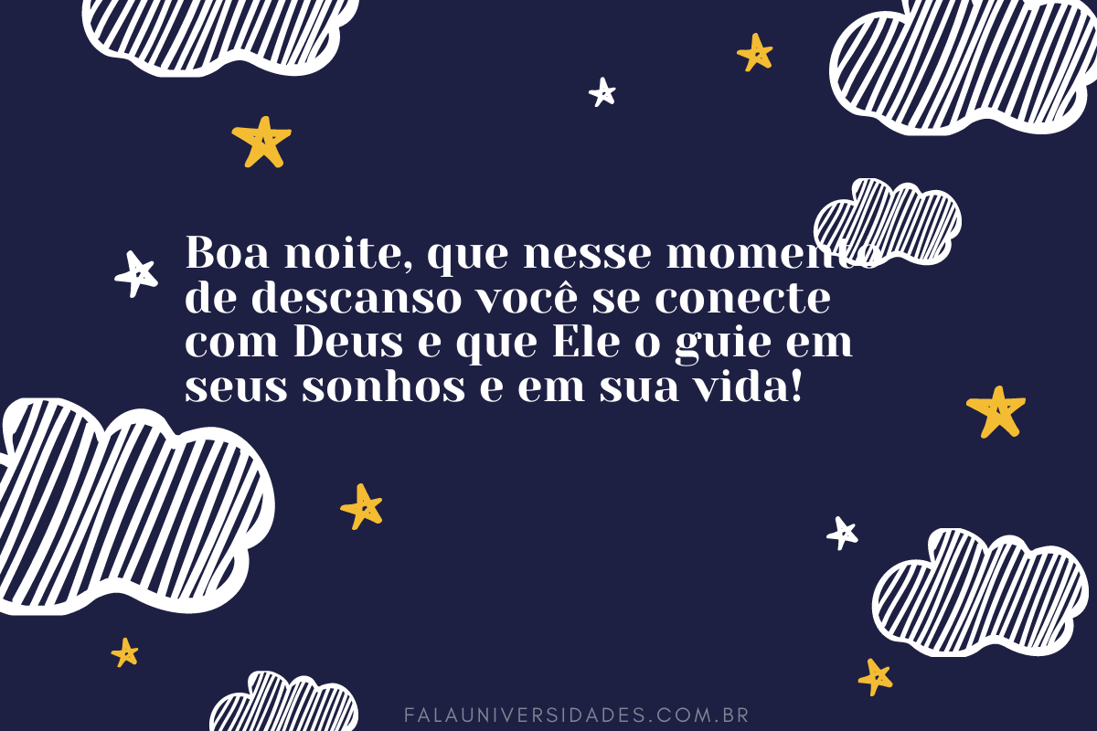 Mensagem de Boa Noite