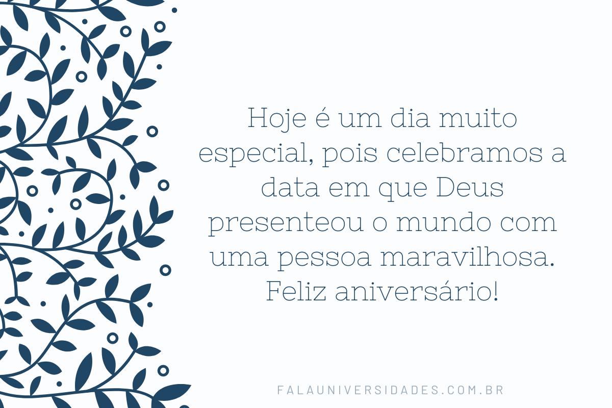 Frases de Parabéns para Evangélicos.