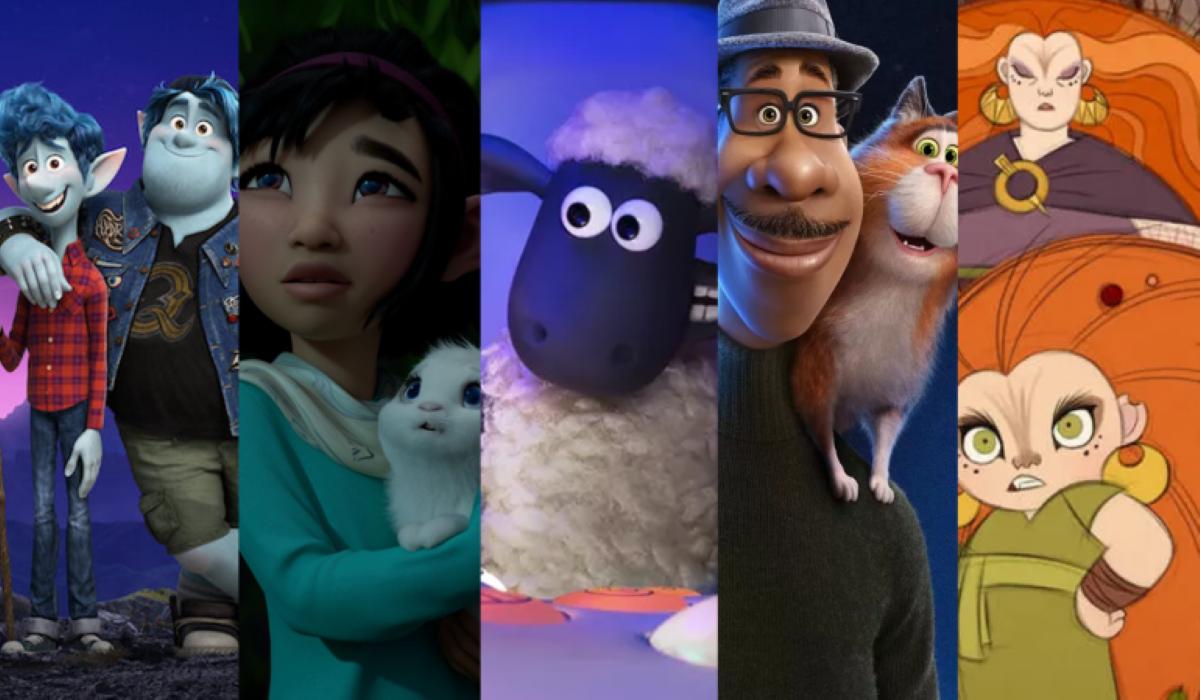 Quais filmes foram indicados ao Oscar 2021 de melhor animação?