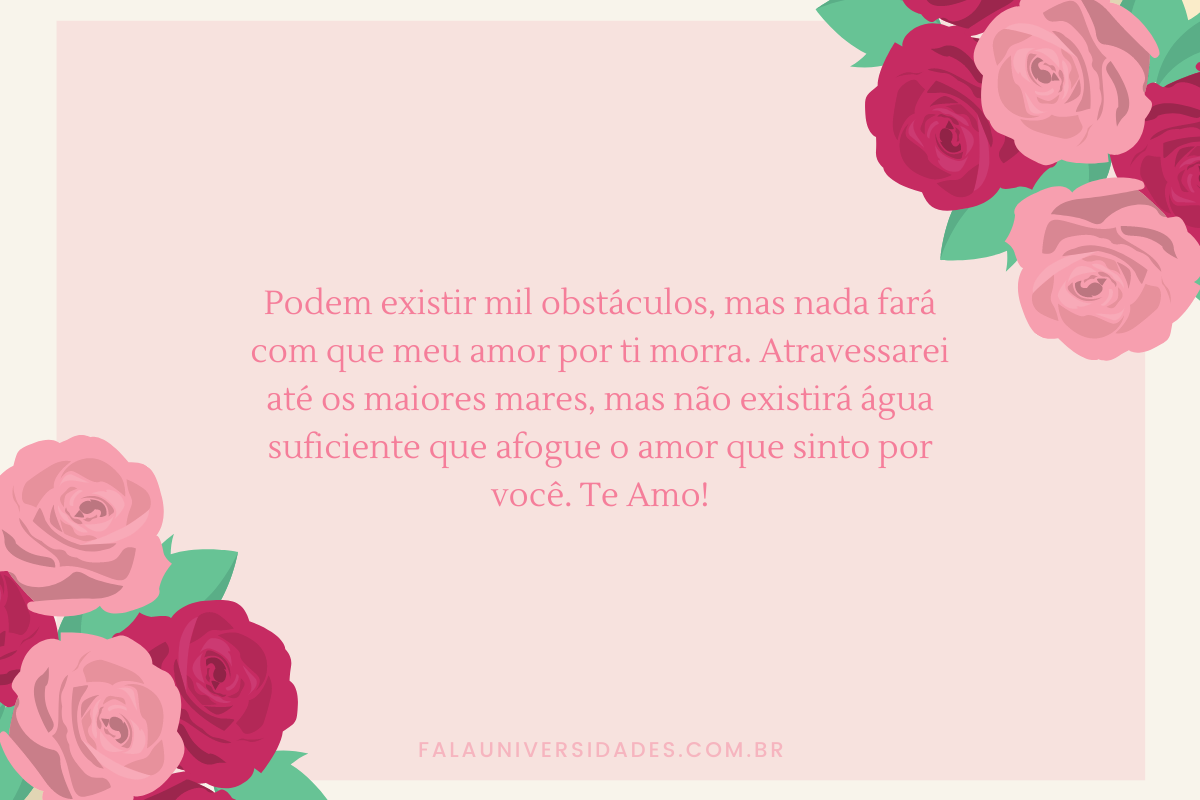 Mensagem de Amor.