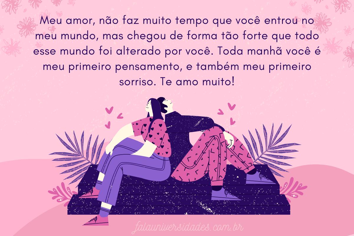 Frases e mensagens de Amor para o Namorado.