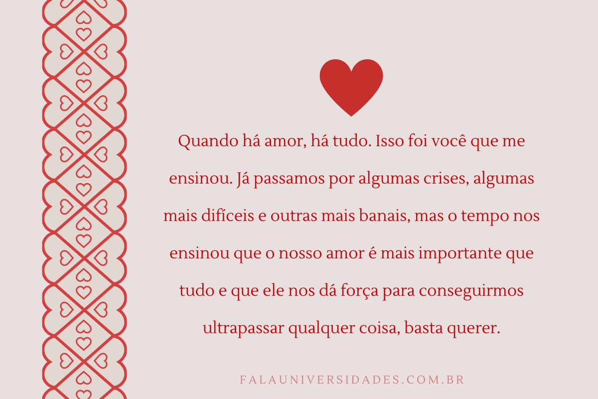 Frases e mensagens de Amor.