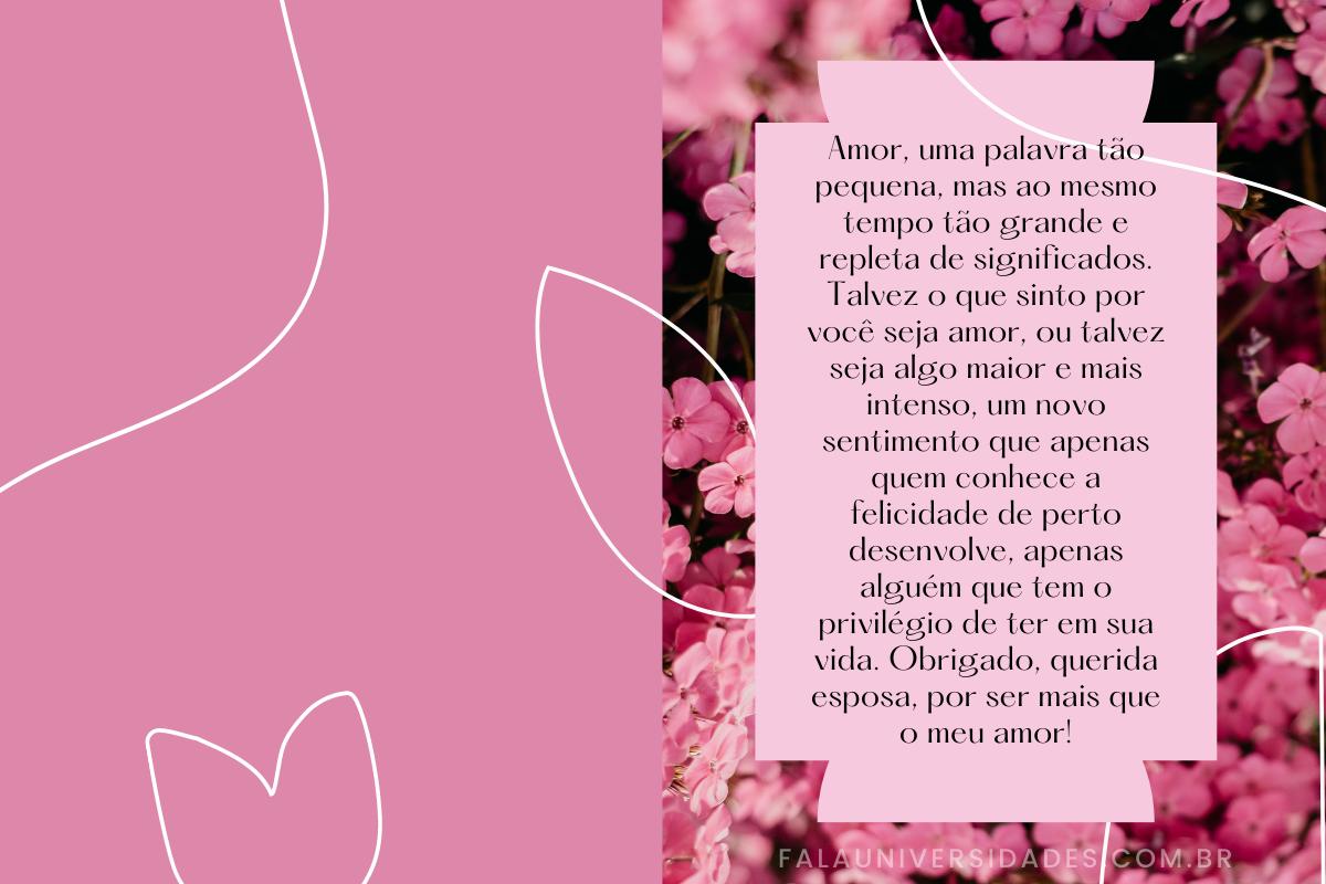 Frases e mensagens lindas e carinhosas.