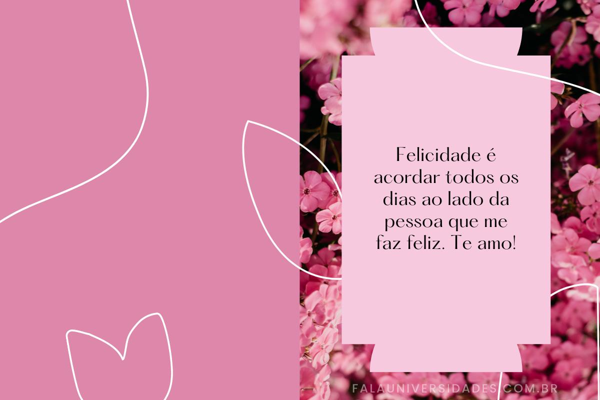 Mensagem de Amor para Esposa.