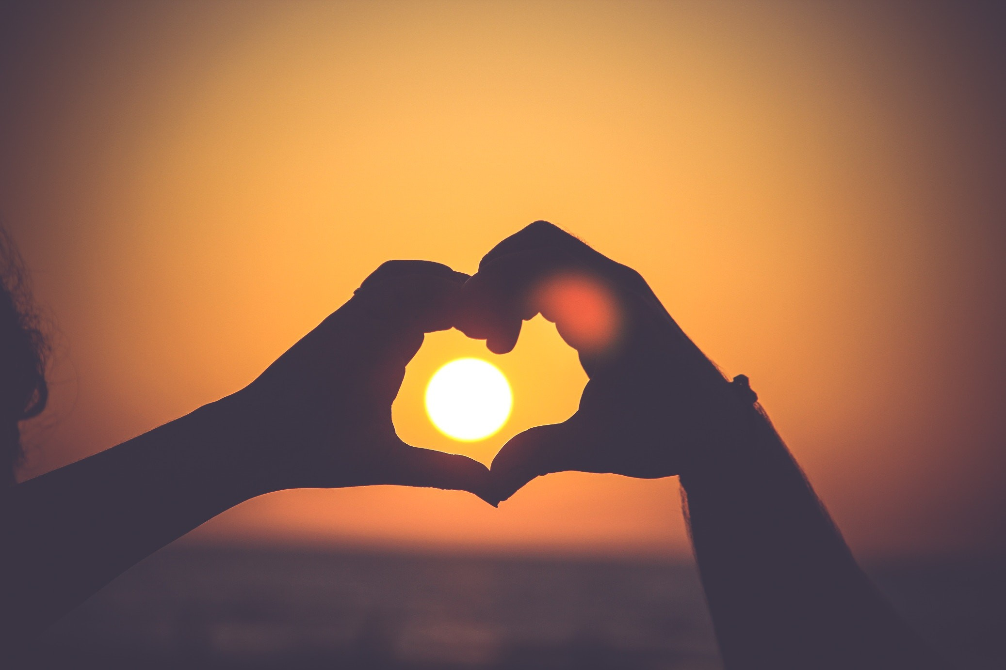 Uma mensagem de amor é simples, porém, muito poderosa.