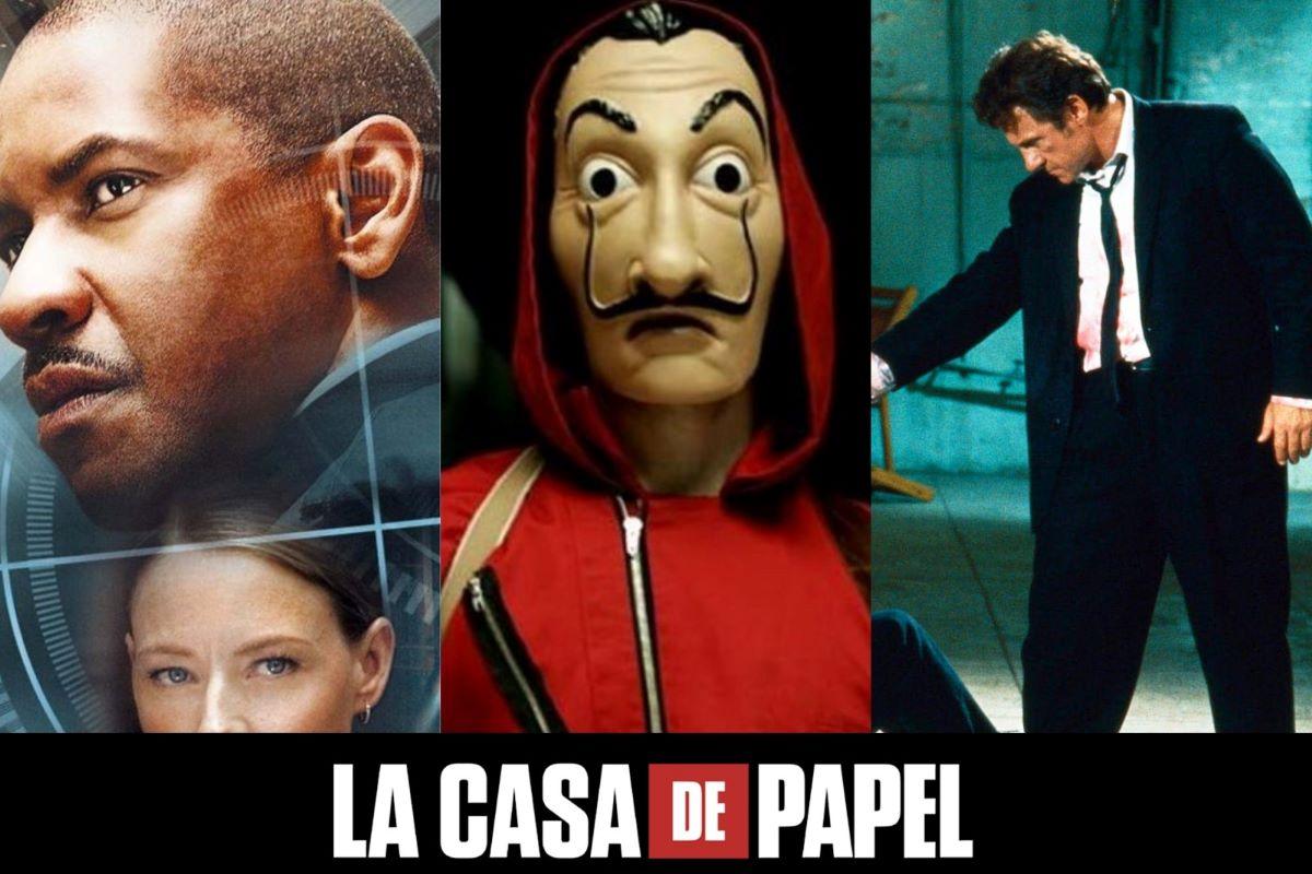 'La Casa de Papel' completa 4 anos; veja filmes com o mesmo tema