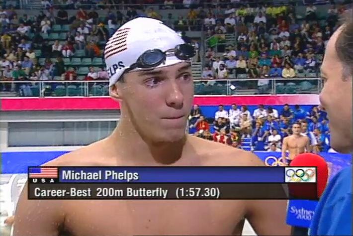 Phelps olimpíadas 2000