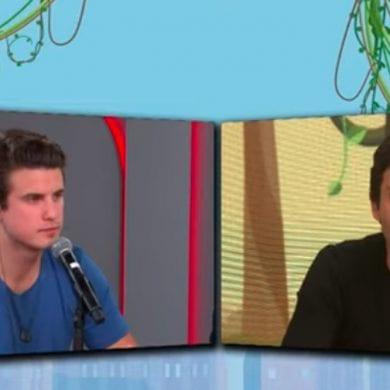 Saiba a briga entre André e Tomé Abduch no programa Pânico