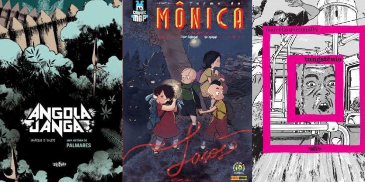 Cinco quadrinhos brasileiros para você ler durante a pandemia