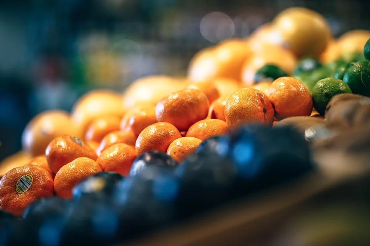 tangerina benefícios