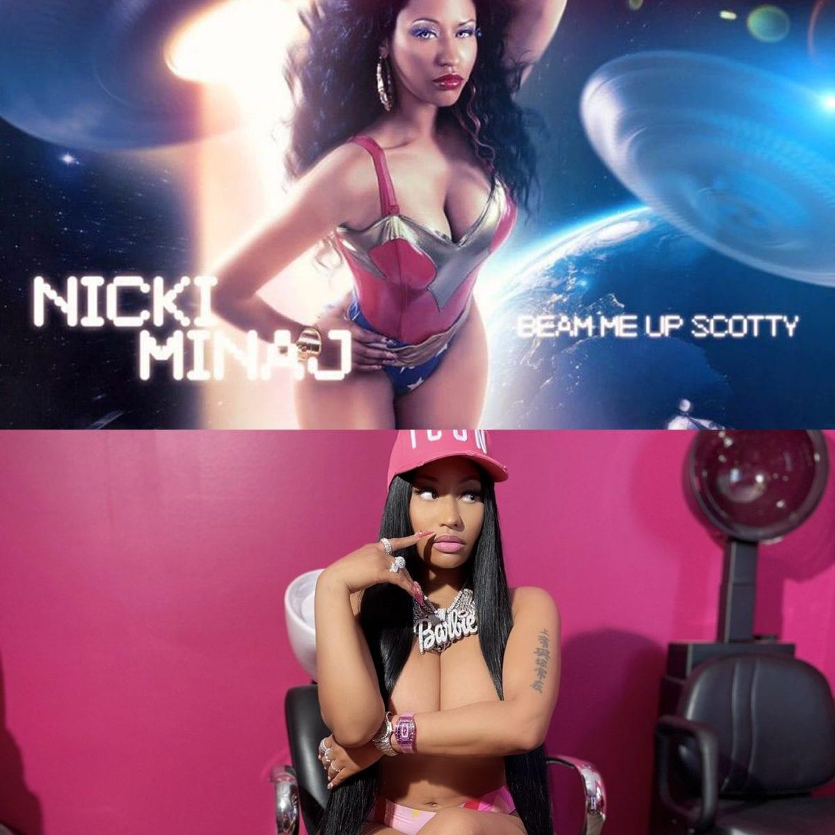 Nicki Minaj relança mixtape 'Beam me up Scotty' com 3 músicas inéditas