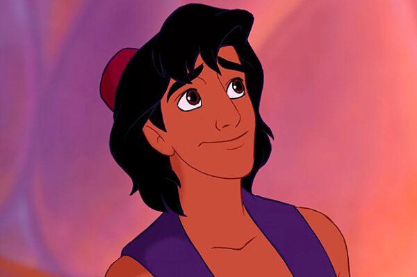 Aladdin é o primeiro príncipe da Disney a ser o protagonista de seu filme.