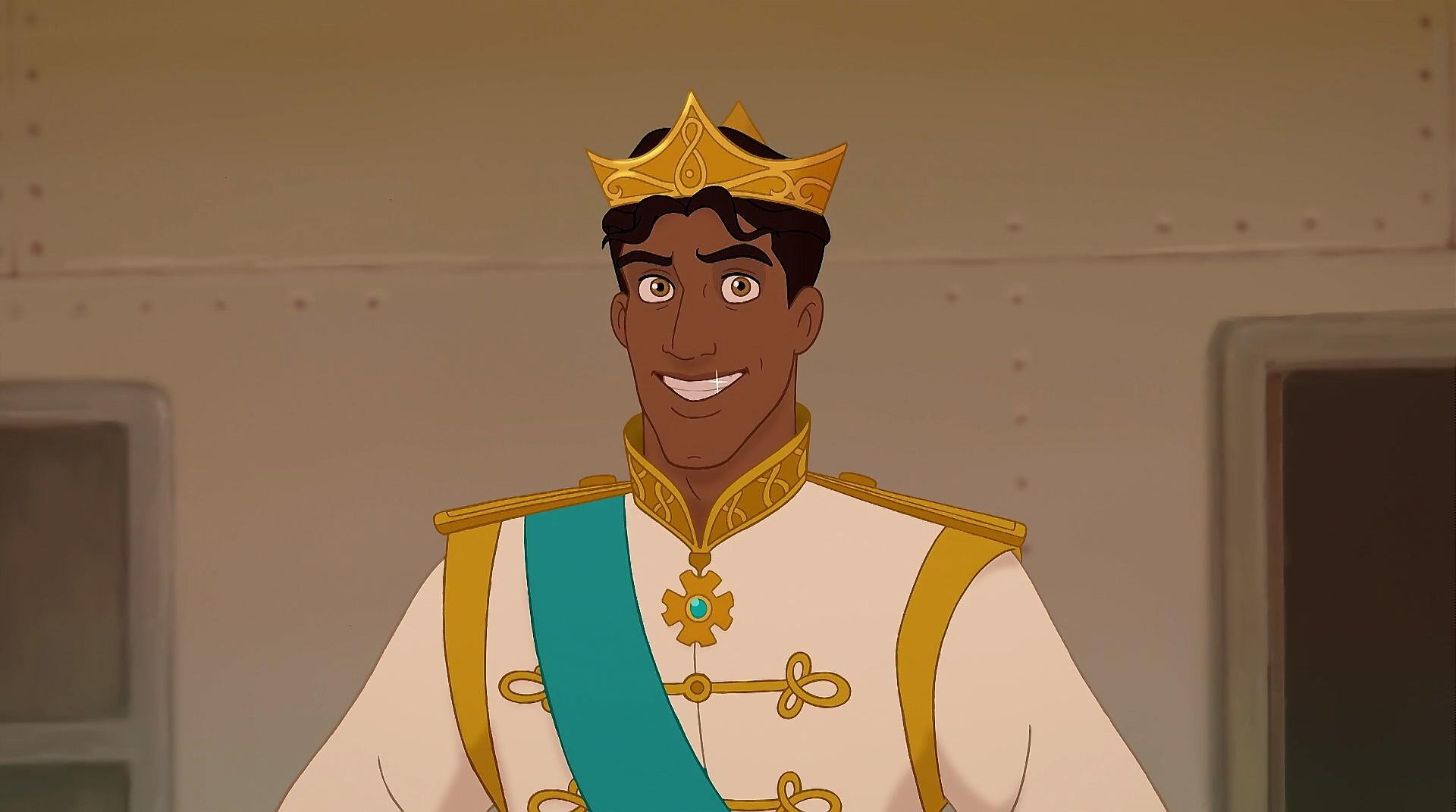 Príncipe Naveen, par romântico da Princesa Tiana.