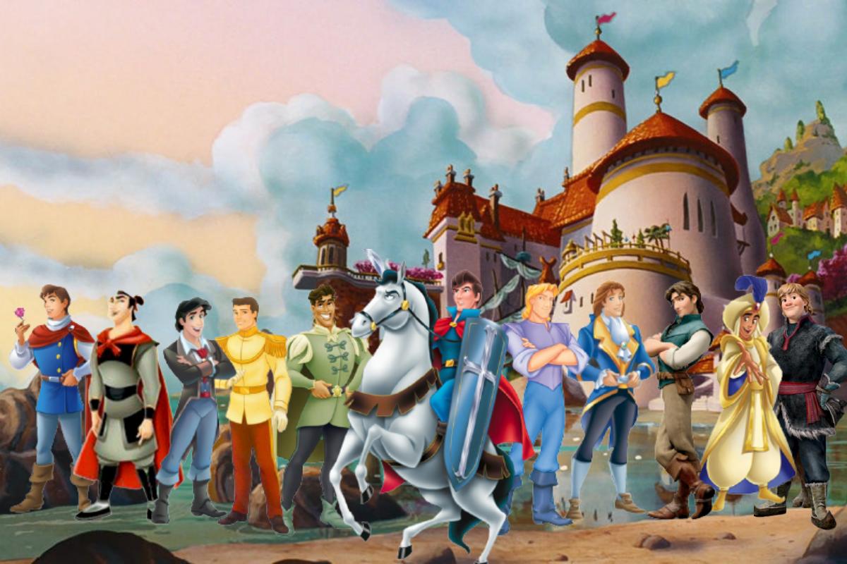 Os príncipes da Disney são fundamentais para os contos de fadas do estúdio.