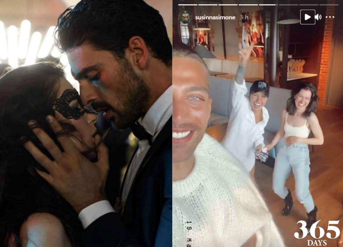 365 Dni: ator de Nacho mostra gravações da sequência; confira!