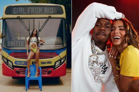 Saiba mais sobre o lançamento do remix da música Girl from Rio da Anitta com o DaBaby