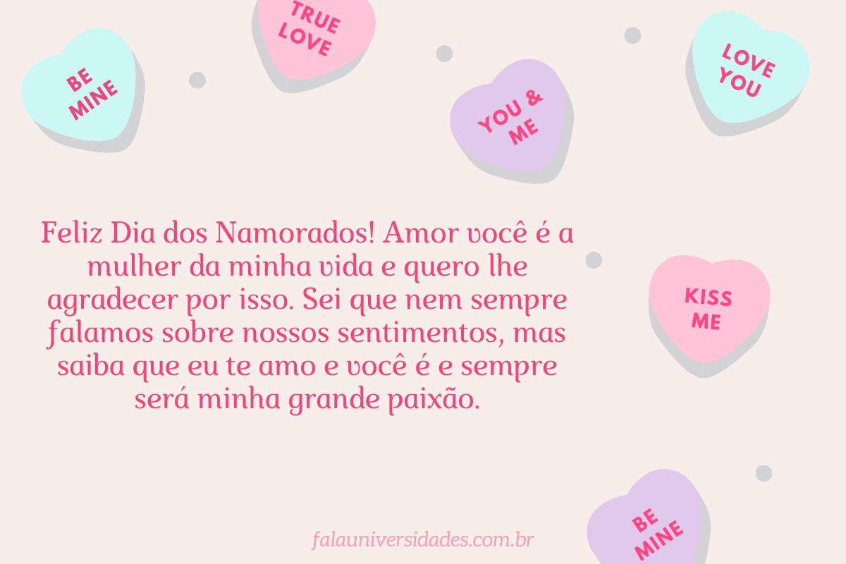 A mensagem do Dia dos Namorados mais linda.