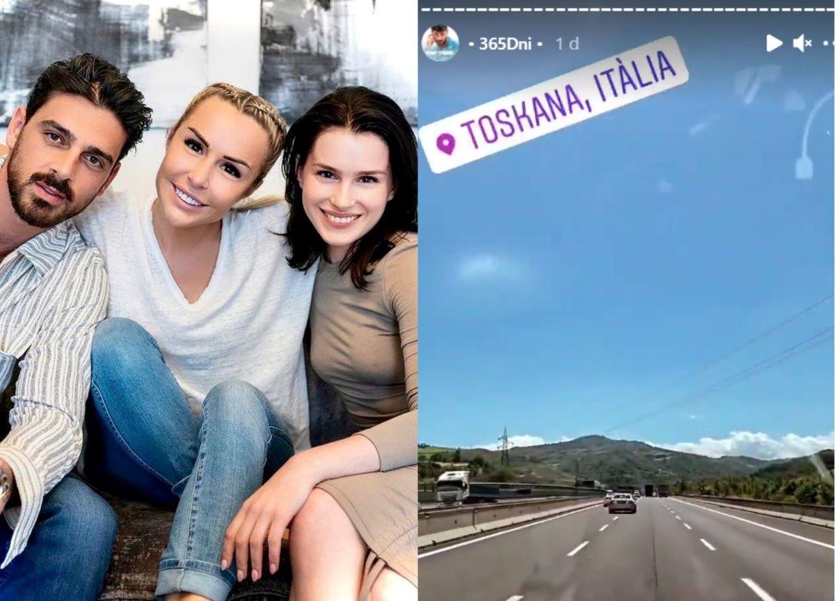 Elenco de '365 Dni' viaja à Itália para gravar cenas da sequência