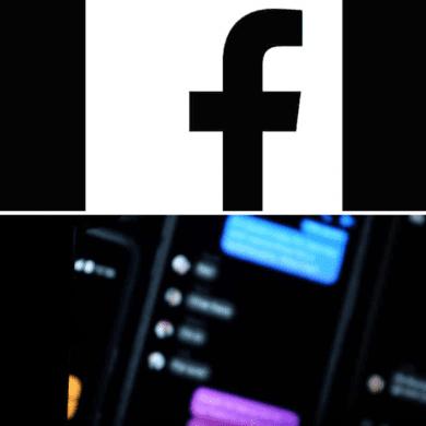 modo escuro Facebook