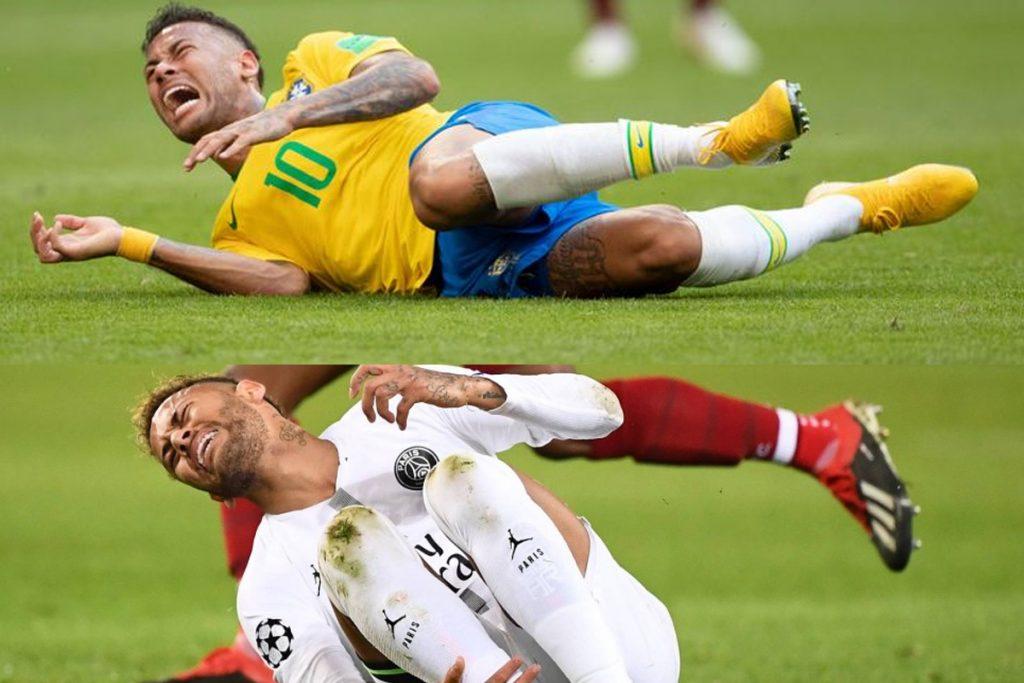 Saiba o porque o jogador Neymar é chamado de piscineiro nos times da Europa.