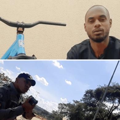 Youtuber negro sofre violência policial