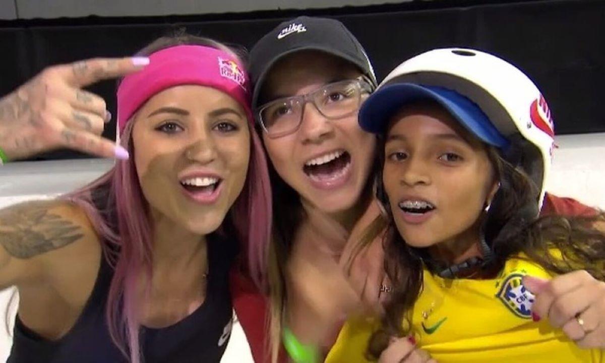 Olimpíadas: 3 skatistas classificadas para disputar o street feminino