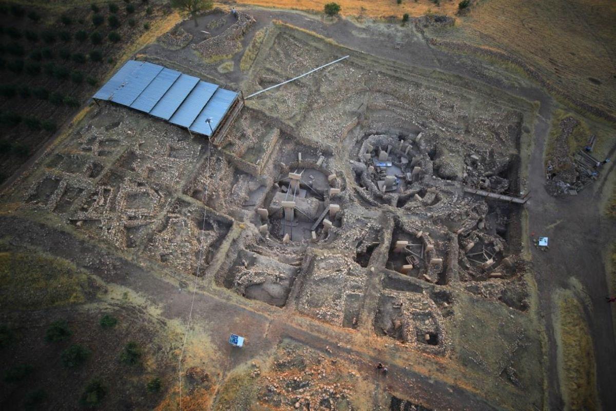 Göbekli Tepe escavação