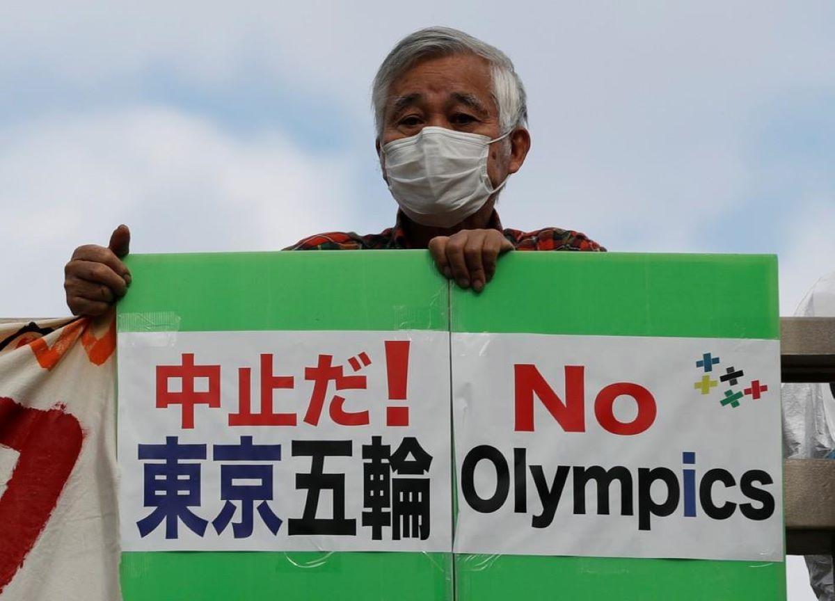 Japoneses pedem cancelamento das Olimpíadas de Tóquio 2021