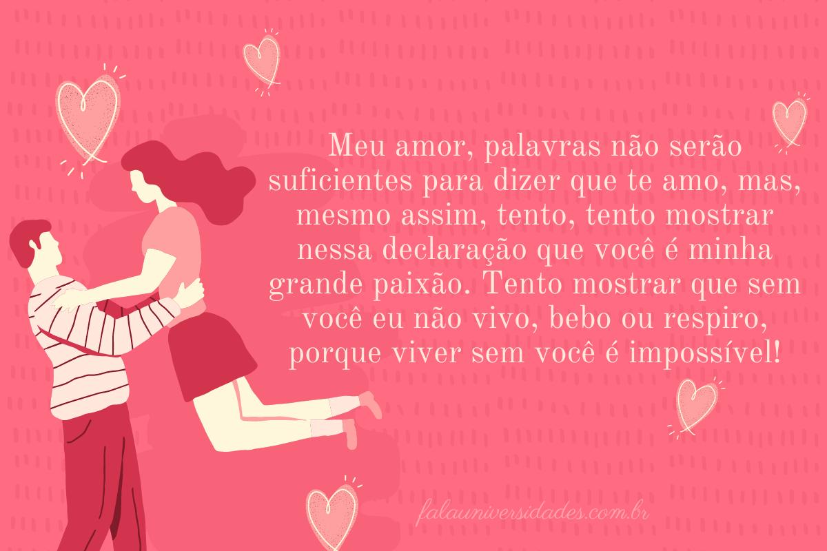 Frases para enviar para quem ama no Dia dos Namorados.