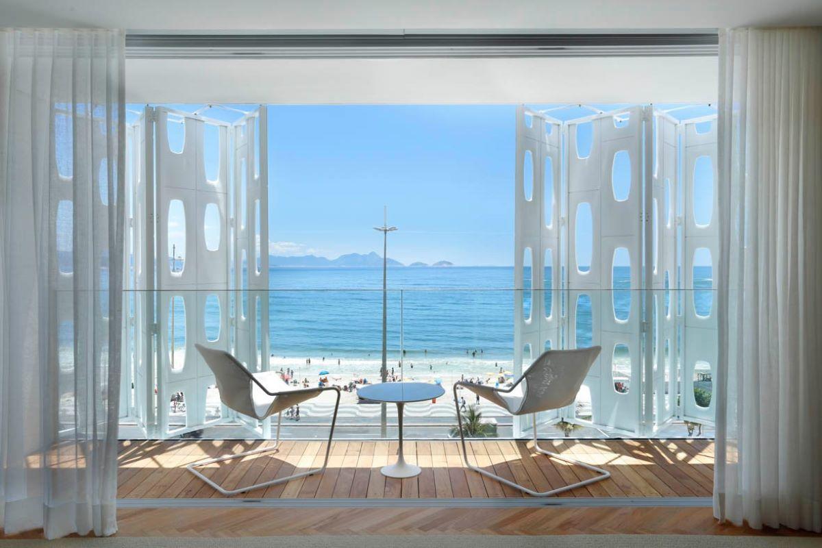 Conheça os cinco melhores hotéis do Brasil