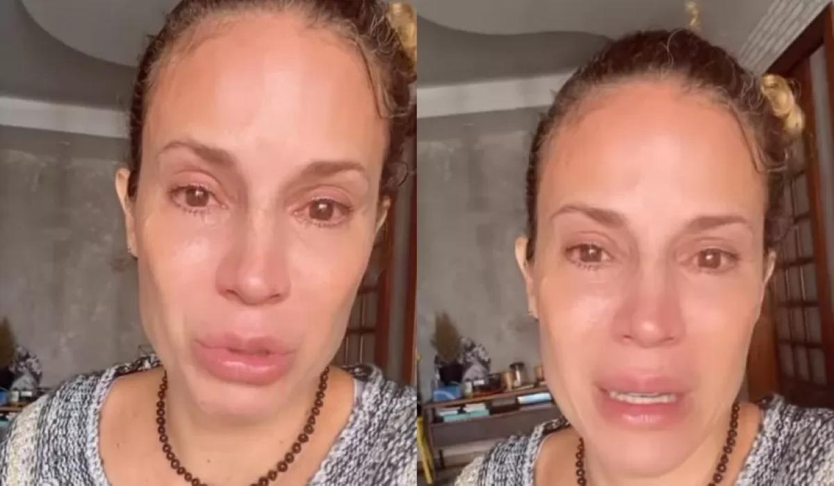 Maíra Charken lamenta dificuldades financeiras e chora em vídeo