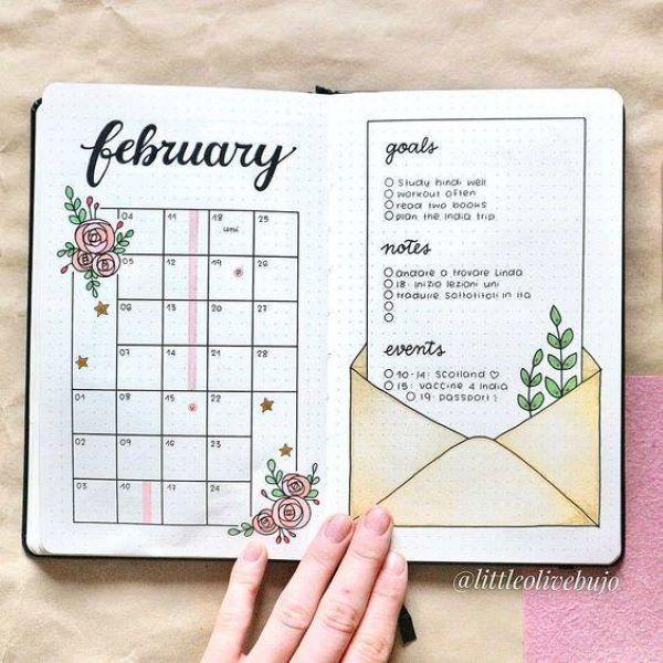 criar bullet journal